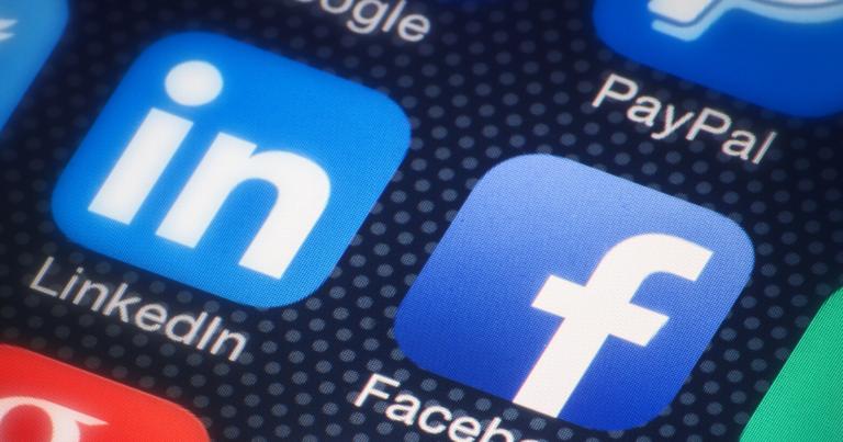 LinkedIn app visual